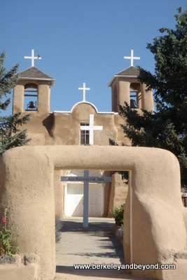 NM-Taos-SanFranciscodeAsisChurch-Crosses-400pix(c2006CaroleTerwilligerMeyers)