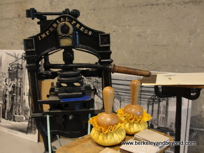 SF-American Bookbinders Museum-Imperial Press machine-c2015 Carole Terwilliger Meyers-400pix