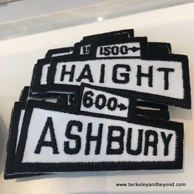 SF-Haight-Ashbury-San Francisco Mercantile-Haight-Ashbury patches-c2017 Carole Terwilliger Meyers-400pix