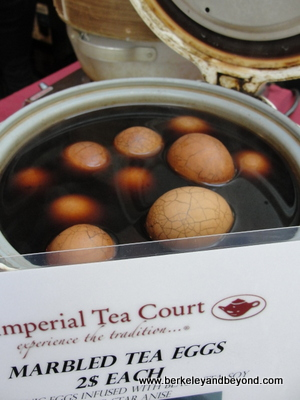 SF-Ferry Bldg.-Imperial Tea Court-marbled tea eggs-c2014 Carole Terwilliger Meyers-400pix