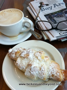 SF-Emporio Rulli Cafre-Cafe au Lait + kipfen almond pastry-4-13-300pix(iPhone-c2013CaroleTerwilligerMeyers)