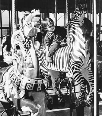 SF-GGPark-Carrousel-B&W-scan(courtesy SFCVB)