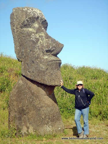 Easter Island-Ranu Raraku Quarry-Single Head-Carole1-c Jim Gebbie-fnl-500pix