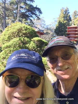 SF-Golden Gate Park-Japanese Tea Garden-selfie-c2015 Carole Terwilliger Meyers-iPhone-400pix