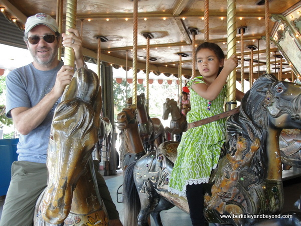 7-carousels-Griffith Park-Merry-Go-Round-Los Angeles-David+Meadow ride 1-c2014 Carole Terwilliger Meyers-600pix