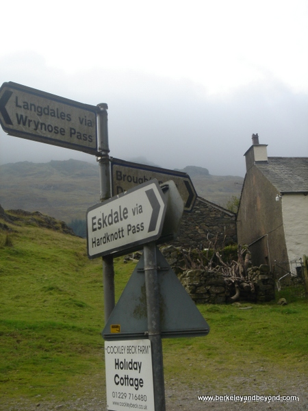 2-signposts-England-Lake District-Wrynose Pass-c2007 Carole Terwilliger Meyers-600pix