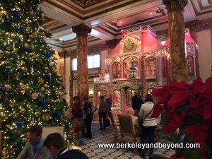 SF-Fairmont-Christmas-gingerbread house-c2014 Carole Terwilliger Meyers-iPhone-300pix